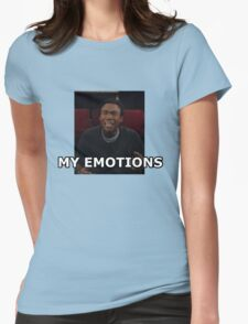 My Emotions - Troy Barnes Womens Fitted T-Shirt