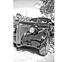1939 Chevy HDR Photographic Print
