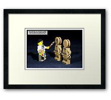 Basil Brush Framed Print