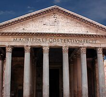The Pantheon Rome Italy by jwwallace