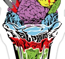 Zombie sundae Sticker