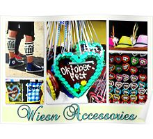 Wiesn Accessories Poster