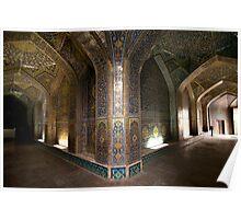 Lotfollah Mosque Entry, Esfahan, Iran Poster