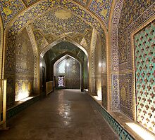 Entry to Women's Mosque, Persia by Jane McDougall
