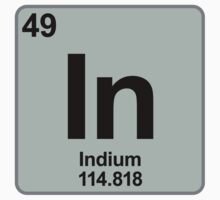 Element In Indium by SignShop