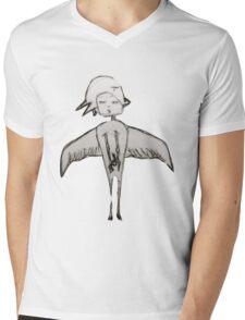 Grumpy Birds Mens V-Neck T-Shirt