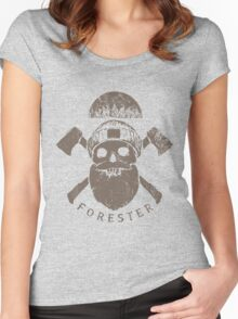 Zombie Forest Women's Fitted Scoop T-Shirt