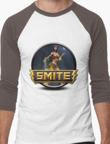 Smite Nu Wa Logo Men's Baseball ¾ T-Shirt