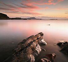 Seil Island Sunset by Grant Glendinning