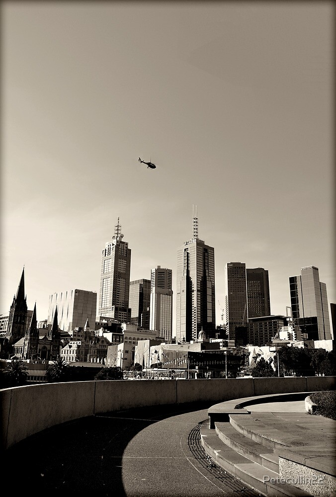 skylines and scape routes  by Petecullin22