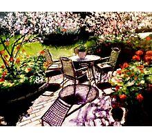 Dal mio giardino Photographic Print