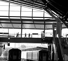 Melbourne station  by Petecullin22