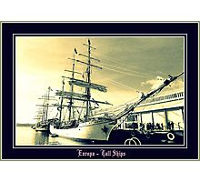 *TALL SHIPS / HOBART 2013* Photographic Print