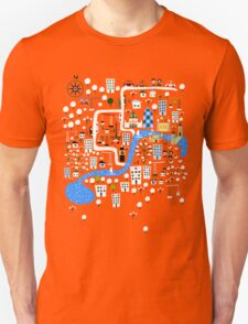 Cartoon Map of London T-Shirt