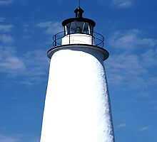Ocracoke Light by Roger Otto