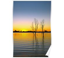lake eppo sunrise Poster