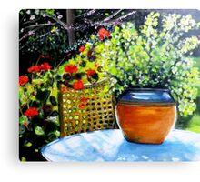 De mon jardin Canvas Print