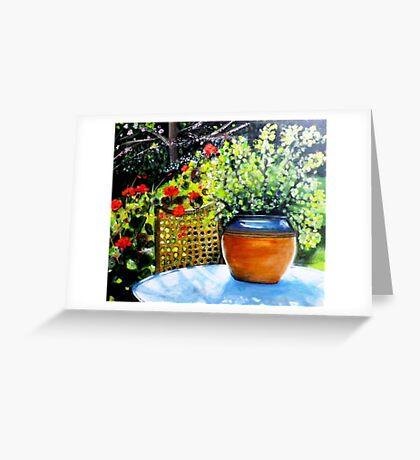 De mon jardin Greeting Card