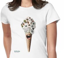 Eyescream! (Cone) Womens Fitted T-Shirt