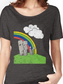 Easter Island Topsy-Turvy Women's Relaxed Fit T-Shirt