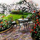 """Midi dans le jardin by Belinda """"BillyLee"""" NYE (Printmaker)"""