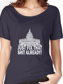 We The People Are Tired Of Your Crap Women's Relaxed Fit T-Shirt