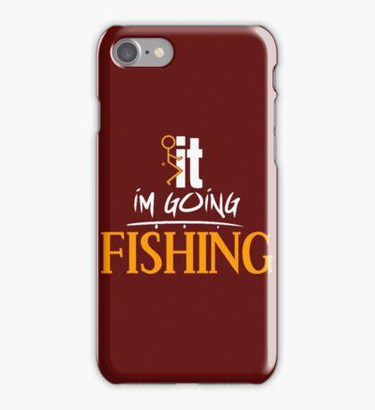 F it Fishing iPhone Case/Skin