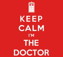 Keep Calm I Am The Doctor Kids Clothes