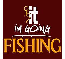 F it Fishing Photographic Print