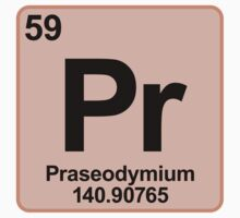 Element Pr Praseodymium by SignShop