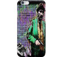 William.S.Burroughs. iPhone Case/Skin