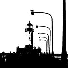Duluth Harbour Lighthouse by GivenToArt