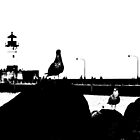 Duluth Harbor Birds by GivenToArt