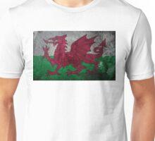 Wales Grunge Unisex T-Shirt