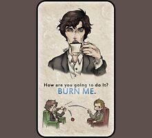 Burning Tea Unisex T-Shirt