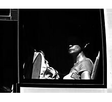 Behind the window ... Photographic Print