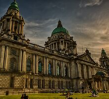Belfast City Hall by Adam Northam