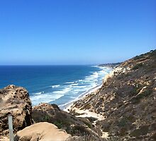 Beautiful and Sunny San Diego Beach by mvt109
