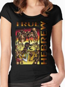Samson: True Hebrew Women's Fitted Scoop T-Shirt