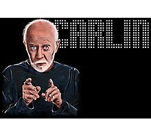 George Carlin - Comic Timing Photographic Print