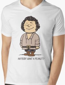 Anybody Want a Peanut? Mens V-Neck T-Shirt