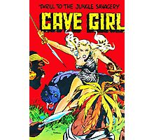 Cave Girl! Photographic Print