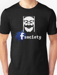 fsociety facebook mr robot T-Shirt