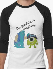 Mike and Sulley - Bestfriends Men's Baseball ¾ T-Shirt
