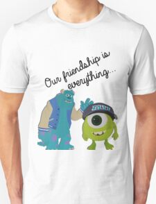 Mike and Sulley - Bestfriends T-Shirt