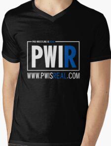 Pro Wrestling Is Real Blocked Alt Mens V-Neck T-Shirt