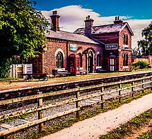 Hadlow Road Railway Station by Beverley Goodwin