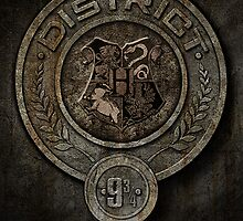 The Hunger Games and Hogwarts clash by Arrianne Gagen