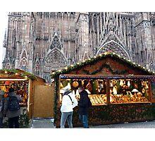 Christmas at Strasbourg (France) Photographic Print