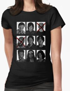 TWD Survivors Womens Fitted T-Shirt